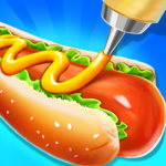 [APK] Street Food Stand Cooking Game for Girls  61.5 (MOD Unlimited Money)
