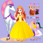 [APK] White Horse Princess Dress Up 5.0.640 (MOD Unlimited Money)