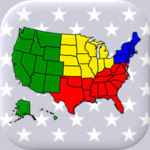 [APK] 50 US States Map, Capitals & Flags – American Quiz 3.3.0 (MOD Unlimited Money)