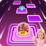 [APK] Diana and Roma Tiles hop for kids 3.0 (MOD Unlimited Money)