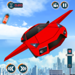 [APK] Flying Car Shooting Games – Drive Modern Cars Game 1.7 (MOD Unlimited Money)