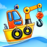 Game Island. Kids Games for Boys. Build House  5.0.2 (MOD Unlimited Money)