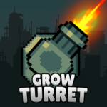 Grow Turret – Idle Clicker Defense  7.5.5 (MOD Unlimited Money)