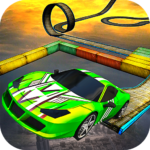 Impossible Stunt Car Tracks 3D  1.8 (MOD Unlimited Money)