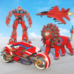 [APK] Lion Robot Transform War : Light Bike Robot Games 1.7 (MOD Unlimited Money)