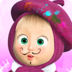 [APK] Masha and the Bear: Free Coloring Pages for Kids 1.6.9 (MOD Unlimited Money)