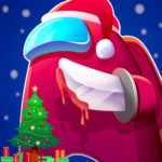 Red Imposter Nightmare Christmas  1.2.1 (MOD Unlimited Money)