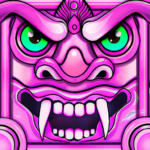 Scary Temple Princess Runner Games 2021  4.9 (MOD Unlimited Money)