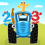 [APK] Blue Tractor Games for Toddlers 2 Years Old! Pre K 1.1.4 (MOD Unlimited Money)
