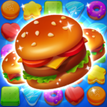 [APK] Cooking Crush Legend – Free New Match 3 Puzzle 1.1.2 (MOD Unlimited Money)