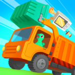 [APK] Dinosaur Garbage Truck – Games for kids 1.0.4 (MOD Unlimited Money)