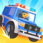 [APK] Dinosaur Police Car – Police Chase Games for Kids 1.1.3 (MOD Unlimited Money)
