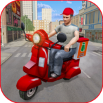 [APK] Moto Bike Pizza Delivery Games 2021: Food Cooking 1.12 (MOD Unlimited Money)
