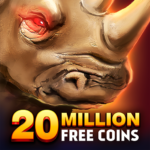 Rhino Fever: Free Slots & Hollywood Casino Games  1.50.7 (MOD Unlimited Money)