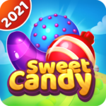 Sweet candy puzzle – Triple match games  1.6 (MOD Unlimited Money)
