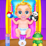 Babysitter Crazy Baby Daycare – Fun Games for Kids  1.0.10 (MOD Unlimited Money)