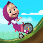 [APK] Masha and the Bear: Climb Racing and Car Games 1.2.7 (MOD Unlimited Money)