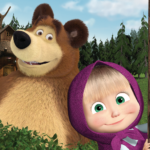Masha and the Bear. Educational Games  6.2 (MOD Unlimited Money)