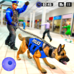 US Police Dog Shopping Mall Crime Chase 2021  4.1 (MOD Unlimited Money)