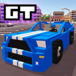 Blocky Car Racer racing game  1.35 (MOD Unlimited Money)