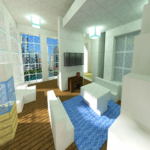 Penthouse build ideas for Minecraft 187 (MOD Unlimited Money)