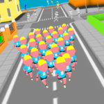 Crowd Run 3D : Multiplayer 5.4 (MOD Unlimited Money)