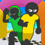 Stickman Fall | Running Stick Guys 3D Varies with device (MOD Unlimited Money)