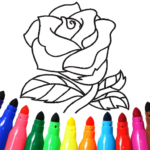 Valentines love coloring book 15.9.6 (MOD Unlimited Money)