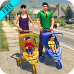 Virtual Twins mom: Mother Simulator Family life 4 (MOD Unlimited Money)