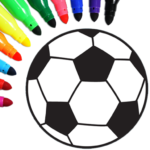 Football coloring book game  16.2.6 (MOD Unlimited Money)