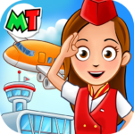 My Town : Airport. Free Airplane Games for kids 1.01 (MOD Unlimited Money)