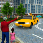 New Taxi Driving Games 2020 – Real Taxi Driver 3d 4 (MOD Unlimited Money)