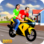 Offroad Bike Taxi Driver: Motorcycle Cab Rider 3.2.1 (MOD Unlimited Money)