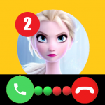 Call Elssa Chat + video call (Simulation)  14.0 (MOD Unlimited Money)