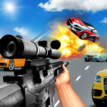 Car Racing Sniper Vs Thieves – Shooting Race games  8 (MOD Unlimited Money)
