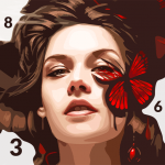 Color Palette Oil Painting Color by Number  4.6.6 (MOD Unlimited Money)