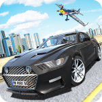 Muscle Car Mustang  (MOD Unlimited Money)