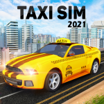 Taxi Simulator : Modern Taxi Games 2021  (MOD Unlimited Money)
