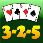 3 2 5 card game  (MOD Unlimited Money)