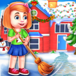 Christmas House Cleaning Game  (MOD Unlimited Money)