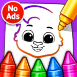 Drawing Games Draw & Color For Kids  1.0.7 (MOD Unlimited Money)