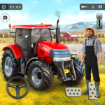 Farming Game 2021 – Free Tractor Driving Games  (MOD Unlimited Money)