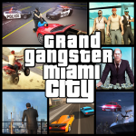 Grand Gangster Miami City Auto Theft  (MOD Unlimited Money)