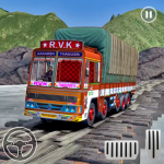 Indian Truck Cargo Driving Simulator 2021  (MOD Unlimited Money)