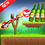 Knock Down Bottles 321 :Ball Hit Cans & Shoot Down  (MOD Unlimited Money)