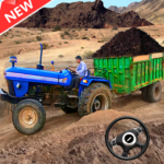 New Tractor trolley Farming Cargo Driver 3D  (MOD Unlimited Money)